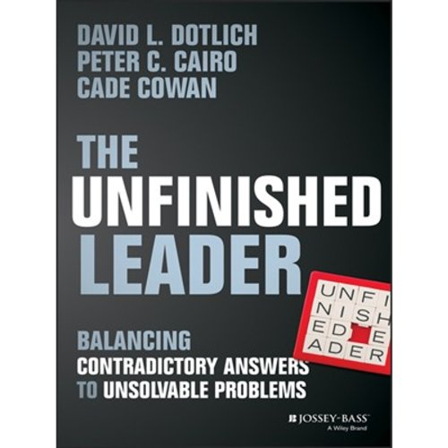 The Unfinished Leader audiobook cover art