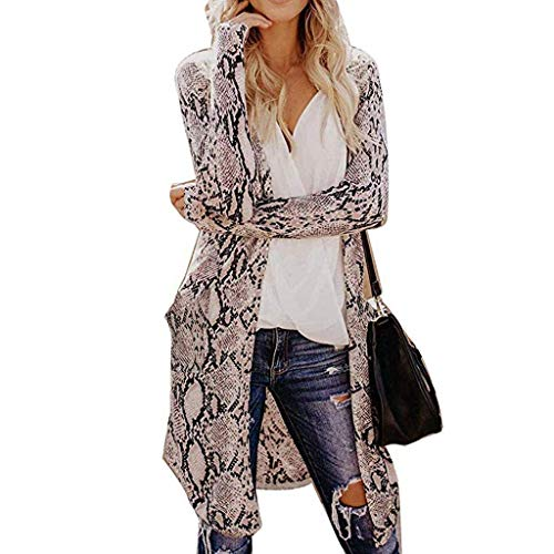 Find Cheap Womens 2019 New Lightweight Open Front Long Cardigans Coat Spring Casual Soft Long Sleeve...
