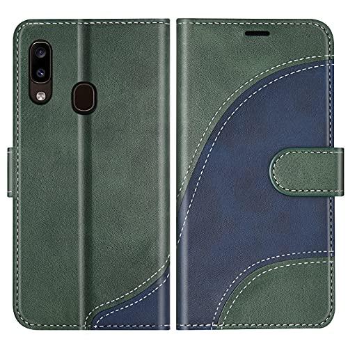 BoxTii Funda para Galaxy A20E, Funda de PU Cuero para Samsung Galaxy A20E, Magnético Carcasa Libro...
