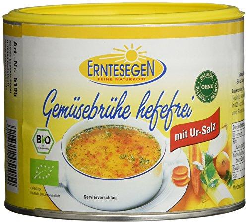 Erntesegen Gemüsebrühe Hefefrei 220g Dose Bio Würz-Sauce (1 x 220 g)