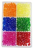 """6 colors x 75 pcs- 450 pcs. size- 8 mm approx for jewellery making. for art and craft making. Ideal as a gift for jewellery maker or creative minds looking for a new hobby products search """"eshoppee"""" to view our all products. """"eshoppee"""" is registered ..."""