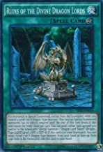 Yugioh 1st Ed Ruins of the Divine Dragon Lords SR02-EN024 Super Rare 1st Edition Rise of the True Dragons Cards