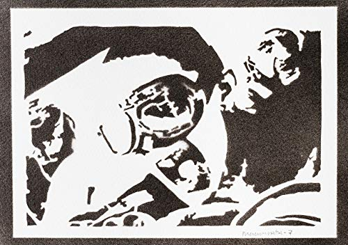 Mad Max und Nux Poster Fury Road Plakat Handmade Graffiti Street Art - Artwork