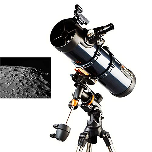 KOKIN Refractores Telescopio Catadióptricos para Niños Adultos Principiantes, Telescopio Refractor HD para Astronomía, con Trípode Ajustable, Adaptador para Smartphone con Mochila 2