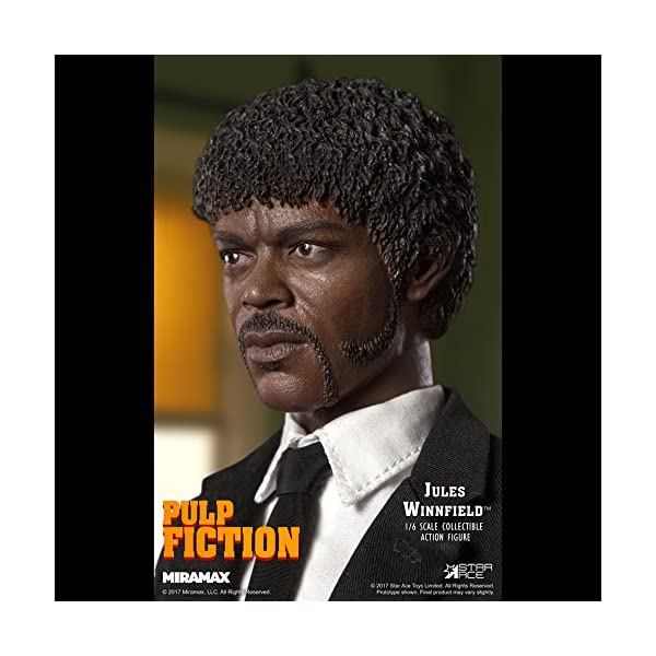 Star Pulp Fiction My Favourite Movie Action Figure 1/6 Jules Winnfield 30 cm 4
