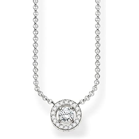Thomas Sabo Women-Necklace 925 Sterling Silver Zirconia Ke1494-051-14-L45V