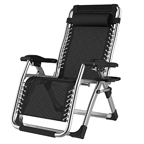 ZZZ-TY Zero Gravity Chairs Folding Reclining Sun Loungers Twin Pack Made From Steel Frame And Textoline Fabric For Patio Conservatory Garden