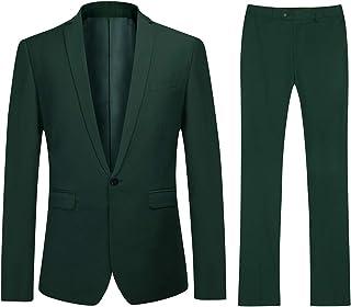 df43d5a55 Amazon.es: Verde - Trajes y blazers / Hombre: Ropa