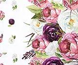 0,5m Premium Baumwolle - Wies'n Blumen BioBunt
