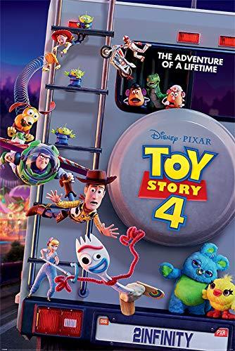 Disney Poster, Multicolore, 61 x 91,5 cm