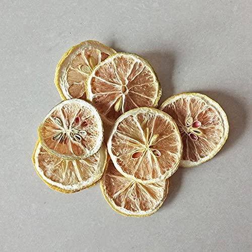 Vela de té Pétalo de decoración DIY Cera de soja pura Ingredientes naturales Flor Hoja de limón Material para hacer velas Aromaterapia-D, China