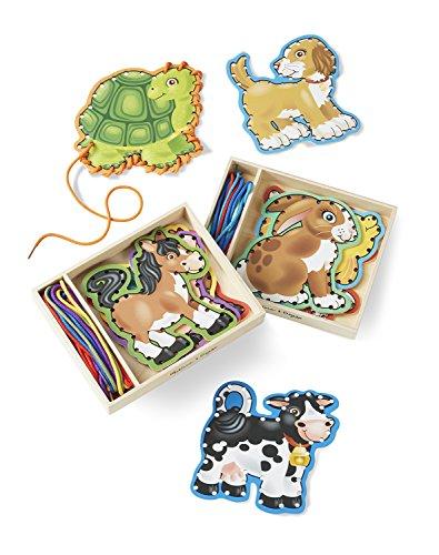Melissa & Doug Lace & Trace Bundle - Pets & Farm Animals