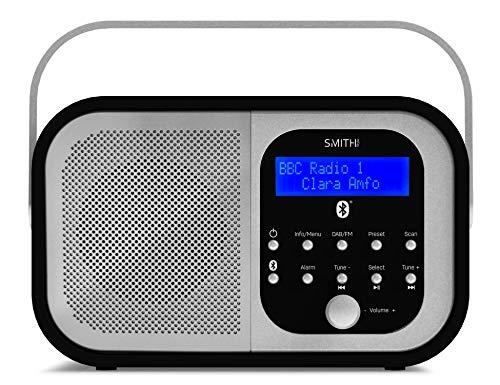 Smith-Style Retro H1 DAB+ FM DAB Digital Radio Bluetooth Portable Radio...