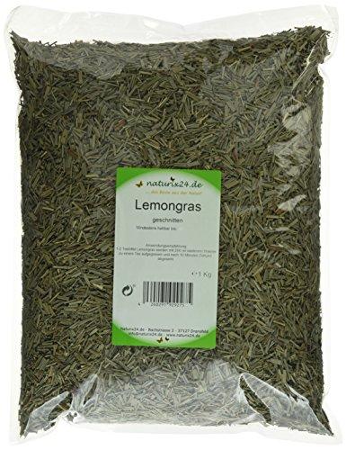 Naturix24 Lemongrastee, Zitronengras geschnitten – Beutel, 1er Pack (1 x 1 kg)