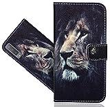 HülleExpert Samsung Galaxy A7 (2018) Handy Tasche, Wallet Hülle Flip Cover Hüllen Etui Hülle Ledertasche Lederhülle Schutzhülle Für Samsung Galaxy A7 (2018)