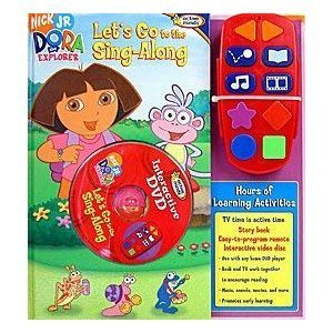 Dora the Explorer Let's Go to the Sing-Along by Nicole Sulgit (2006-01-01)