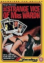 Strange Vice of Mrs Wardh anglais