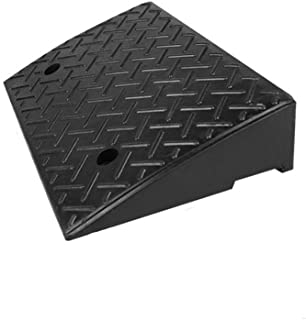Truck Ramps, Sturdy Durable Vehicle Ramps Factory Pier Loading Ramps Black Rubber Home Ramps Outdoor Car Uphill Mat (Size ...