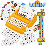 KiddoZone Educational Games Letter Spelling Word Card Math Learning Ages 4-8,...
