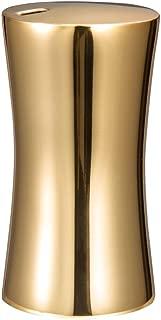 IMEEA Small Toothpick Holder Dispenser Storage Organizer SUS304 Stainless Steel (Gold)