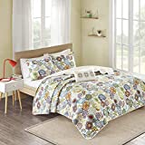 MI ZONE Mizone Tamil Coverlet Set-Multi Cal King, King King
