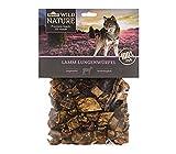 Dehner Wild Nature Hundesnack, Lamm-Lungenwürfel, naturbelassen, 200 g