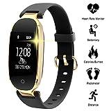 WOWGO Fitness Tracker pour Les Femmes Étape Counter IP67 Imperméable Bluetooth...