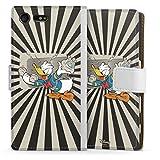DeinDesign Étui Compatible avec Sony Xperia X Compact Étui Folio Étui magnétique Donald Duck...