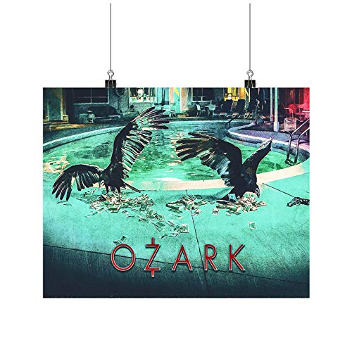 Ozark Movie Netflix A0 A1 A2 A3 A4 Satin Foto Poster p10725h
