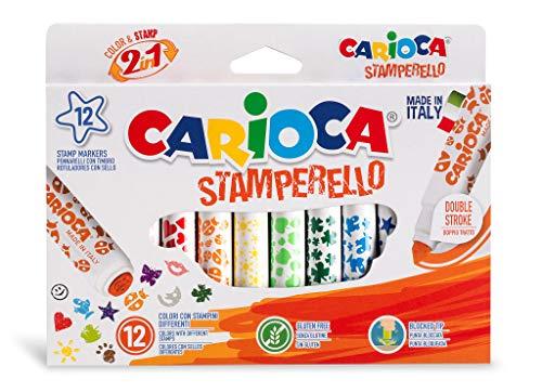 Carioca A53542240 - Pack de 12 rotuladores