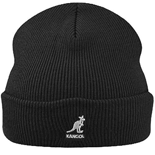 Kangol Acrylic Cuff Pull-On Gorro de Punto, Negro, Talla Inglesa: Talla única para Hombre