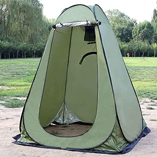 MWKL Carpa para baño para Acampar Ducha emergente Carpa para privacidad Instantánea Impermeable Carpa para habitación Anti-portátil para vestirse Camping Sombrilla para el Sol Refugio al Aire Libre