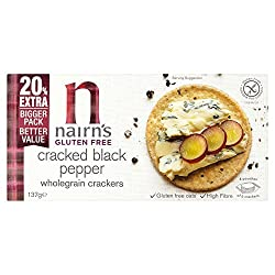 We have extended our gluten free wholegrain cracker range to include a new, delicious cracked black pepper flavour. Packed with wholesome gluten free wholegrain oats and full of flavour with a peppery kick our new Cracked Black Pepper Wholegrain Cr...