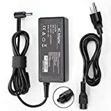 Tissyee 19.5V 3.33A 65W AC Power Adapter, for HP X360, Pavilion, Envy, Elitebook 840, ProBook, Spectre Laptop, 4.5/3.0mm Power Supply with Cord, Work with 65W 45W Laptop Charger