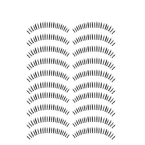 Bluelans® 10 Paar Unterwimpern Falsche künstliche Wimpern Schwarz Eyelasches Wimpernverlängerung...