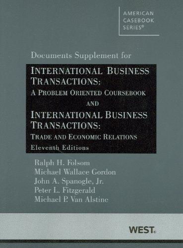 International Business Transactions: A Problem Oriented Coursebook and International Business Transa