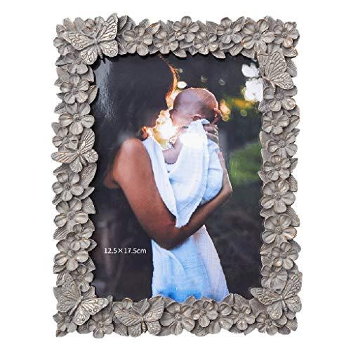 Cadres photo rétro indépendant présentoir Cadeau commémoratif 16 * 21cm Beau Petit (Color : Gray, Size : 16 * 21cm)