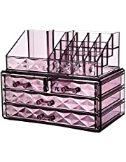 AUSELECT Makeup Display Case Orgenisers