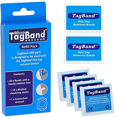 Micro TagBand Refill Band Pack for Skin Tag Remover Device by TagBand