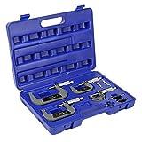 Set de 4 micrómetros 0-100mm Calibrador Micrómetro de exteriores Tornillo Palmer Medición Precisión