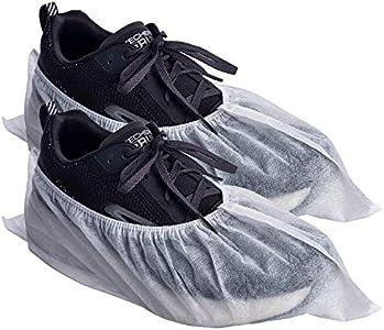 PimPam Factory - Pack de 100 Cubrezapatos Desechables y Transpirables, Ajustables | Fabricado en España | Fundas Protectoras | Hipoalergénico | 100% Reciclable | Sin Olor