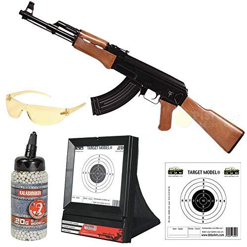 Saigo AK47 AEG Softair Komplettset mit Zubehör