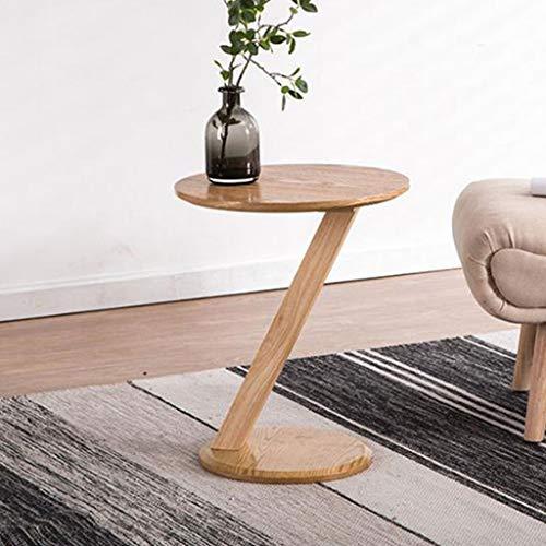 Tavolino da Salotto Tavolino da Caffè Tavolino da salotto in legno massello a forma di Z, semplice tavolo da pranzo creativo per soggiorno e lettura della camera da letto con balcone Tavolino da Salot