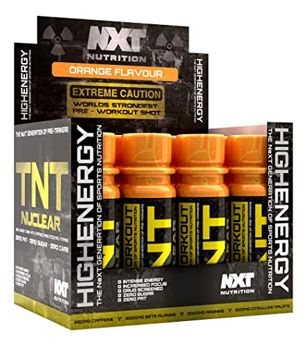 NXT Nutrition TNT Nuclear Shots 12 x 60ml (Strawberry)