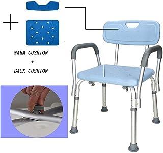 Hhekdj Bastón para caminar con asiento Asiento plegable Bastón para discapacitados Mayores/Aleación de aluminio