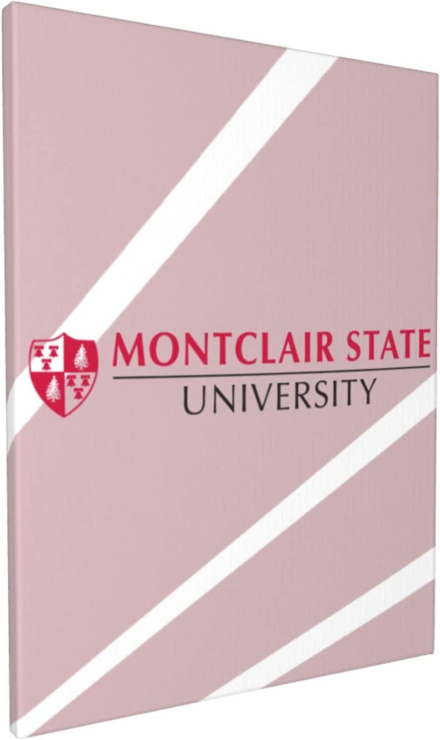 Montclair State University-Logo College Students Max 44% OFF Modern Wal Home Manufacturer OFFicial shop