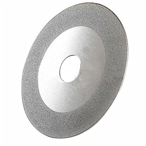 Rueda de corte de diamante de alto rendimiento y d Hoja de sierra circular de la rueda circular del disco de diamante 100 mm / 20 mm para el dispositivo de afilado Herramientas de corte de madera Acce