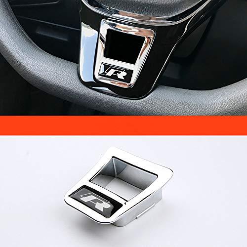 NA Lentejuelas en el Volante con modificación Interior para Bora Golf 7 MK7 Polo Tiguan L Touran L Passat B8L CC Tipo D