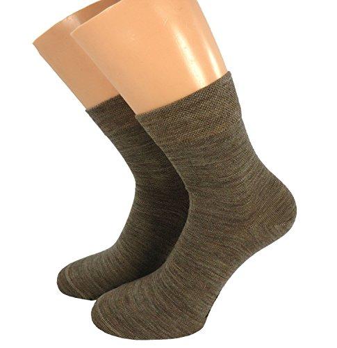 Shimasocks Damen Socken mit Wolle Kurzschaft, Farben alle:schwarz, Größe:39/42