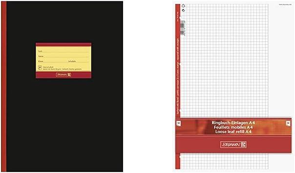 kariert DIN A4 Lineatur 26 schwarz Oberschulheft